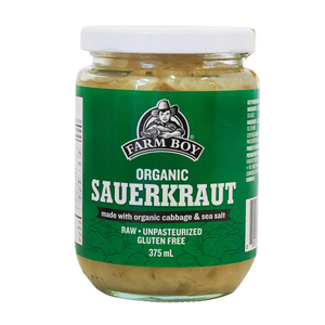 Farm Boy Organic Sauerkraut  375 ml