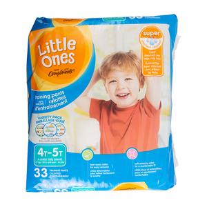 Compliments Little Ones Boys 4T-5T Mega Training Pants 33 EA