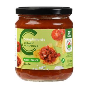 Compliments Organic Mild Salsa 430 ml