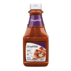 Compliments Garlic Pizza Sauce 375 ml
