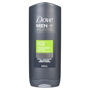 Dove Men Extra Fresh Body Wash 400 ml