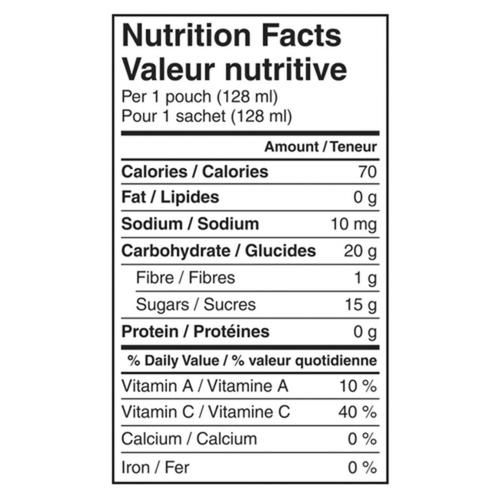 Gerber Organic Purée Mango, Apple, Carrot & Kale 128 ml