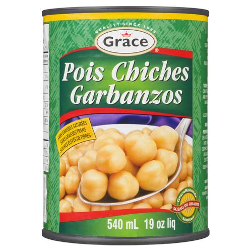 Grace Chick Peas 540 ml