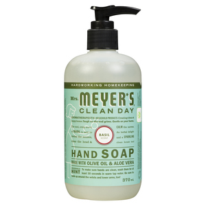 Mrs. Meyer's Clean Day Hand Soap Basil 370 ml