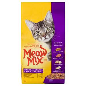 Meow Mix Original Cat Food 2 kg