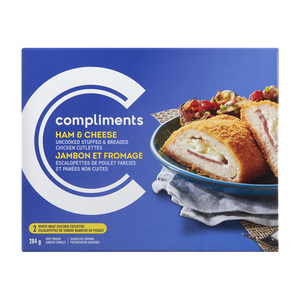 Compliments Ham And Cheese Stuffed Chicken Breast 284 g
