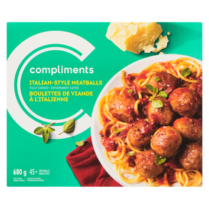 Compliments Meatballs Italian 680 g