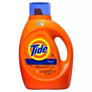 Tide Laundry Detergent 2X HE Original 64 Loads 2.72 L