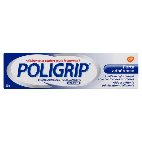 Poligrip Strong Hold Denture Adhesive 40 g