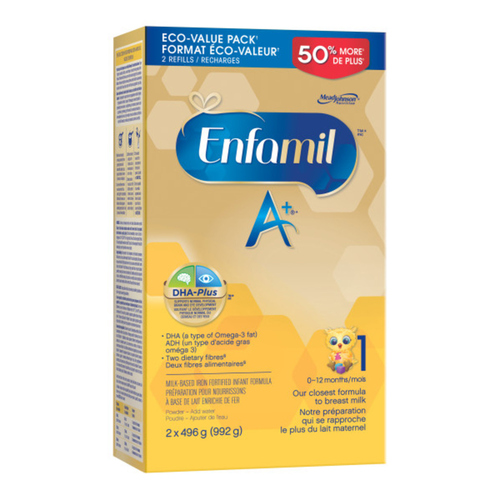 Enfamil A+ Infant Formula Powder Refill 992 g