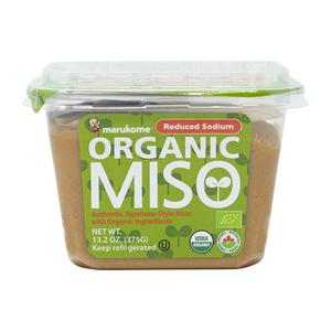 Marukome Organic Reduced Sodium Miso Paste 375 g