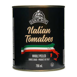 Farm Boy Italian Canned Tomatoes Whole and Peeled 796 ml