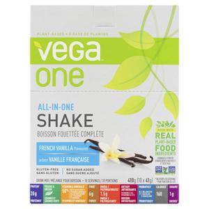 Vega One All-In-One French Vanilla Shake 10 x 41 g