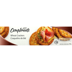 Compliments Whole Wheat Crackers 225 g