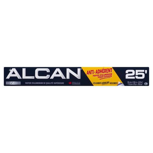 Alcan Non-Stick 25 Baking Foil 12 inches x 25 feet