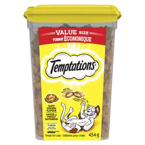 Whiskas Temptations Chicken Cat Treats 454 g