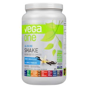 Vega One All-In-One French Vanilla Nutritional Shake Powder 827 g