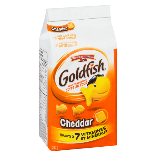 Pepperidge Farm Cheddar Goldfish Crackers 200 g