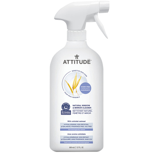 Attitude Natural Window & Mirror Cleaner 800 ml