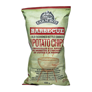 Farm Boy Potato Chips Barbecue 198 g