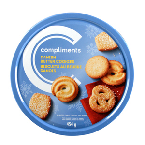 Compliments Danish Butter Cookies 454 g