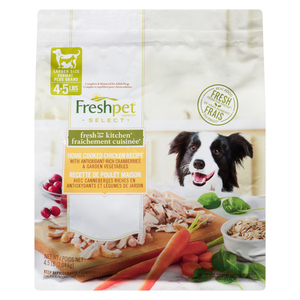 Freshpet Select Fresh from the Kitchen Home Cooked Dog Food Chicken Recipe 2.04 kg