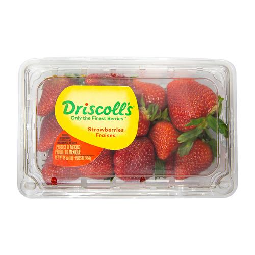 Clamshell Strawberries 454 g