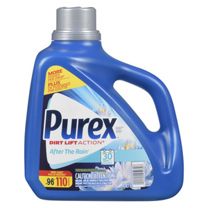 Purex Ultra Laundry Detergent After The Rain 96 Loads 4.43 L