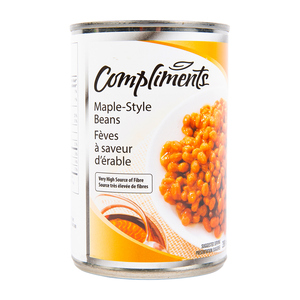 Compliments Beans In Maple Syrup 398 ml