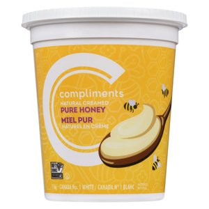 Compliments Pure Naturally Creamed Honey 1 kg
