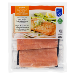 Compliments Loins Pacific Pink Wild Salmon 227 g