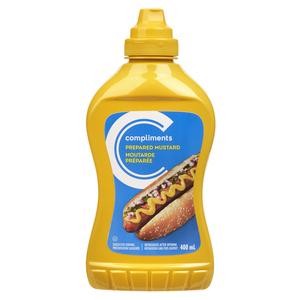 Compliments Prepared Mustard 400 ml