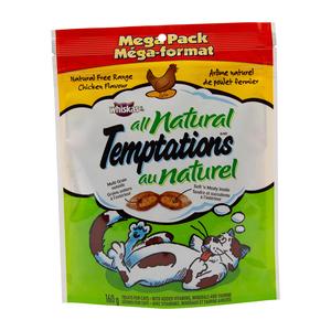 Whiskas Temptations Chicken All Natural Cat Food 160 g