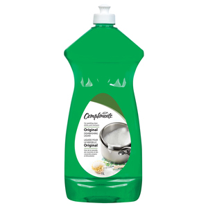 Compliments Liquid Grease Fighter Dish Detergent 1 L