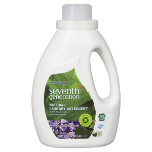 Seventh Generation Laundry Detergent Eucalyptus & Lavender 33 Loads 1.47 L