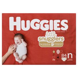 Huggies Little Snugglers Newborn Diapers 84 EA