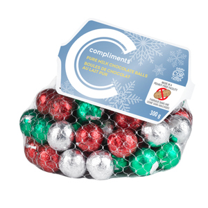 Compliments Chocolate Balls Pure Milk Chocolate 300 g