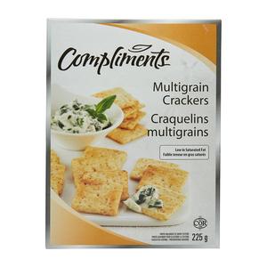Compliments Crackers Multigrain  225 g