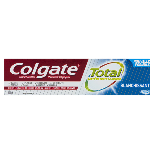Colgate Total Whitening Toothpaste 120 ml