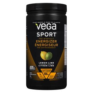 Vega Sport Lemon Lime Pre Workout Energizer 540 g