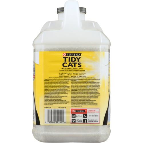 Tidy Cats 4 in 1 Strength Lightweight Cat Box Filler 2.72 kg