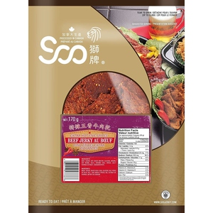 Soo 5 Spices Beef Jerky 170 g
