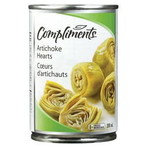 Compliments Artichoke Hearts 398 ml