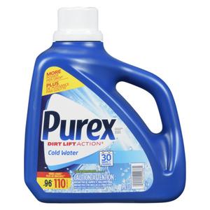 Purex Ultra Cold Water Laundry Detergent 96 Loads 4.43 L
