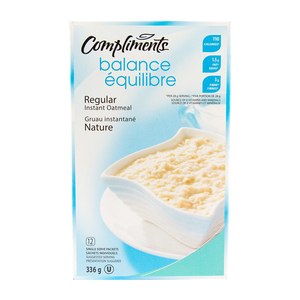 Compliments Balance Regular Oatmeal 336 g