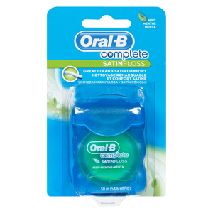 Oral-B Satin Mint Dental Floss 50M