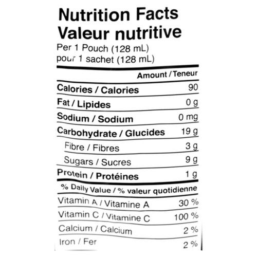 Love Child Organics Baby Food Butternut Squash, Corn & Apple 128 ml