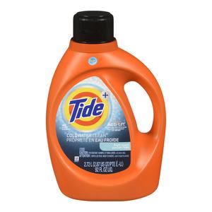 Tide Cold Water Liquid Laundry Detergent Fresh Scent 48 Loads 2.72 L