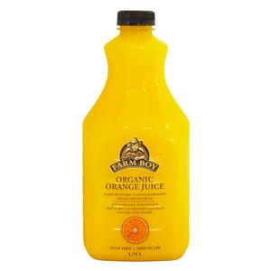 Farm Boy Organic Orange Juice  1.75 L