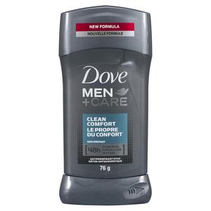 Dove Men+Care Invisible Solid Antiperspirant Clean Comfort 76 g